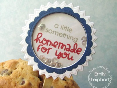 {Paper Smooches} Housewarming Gift Toppers with Just For You