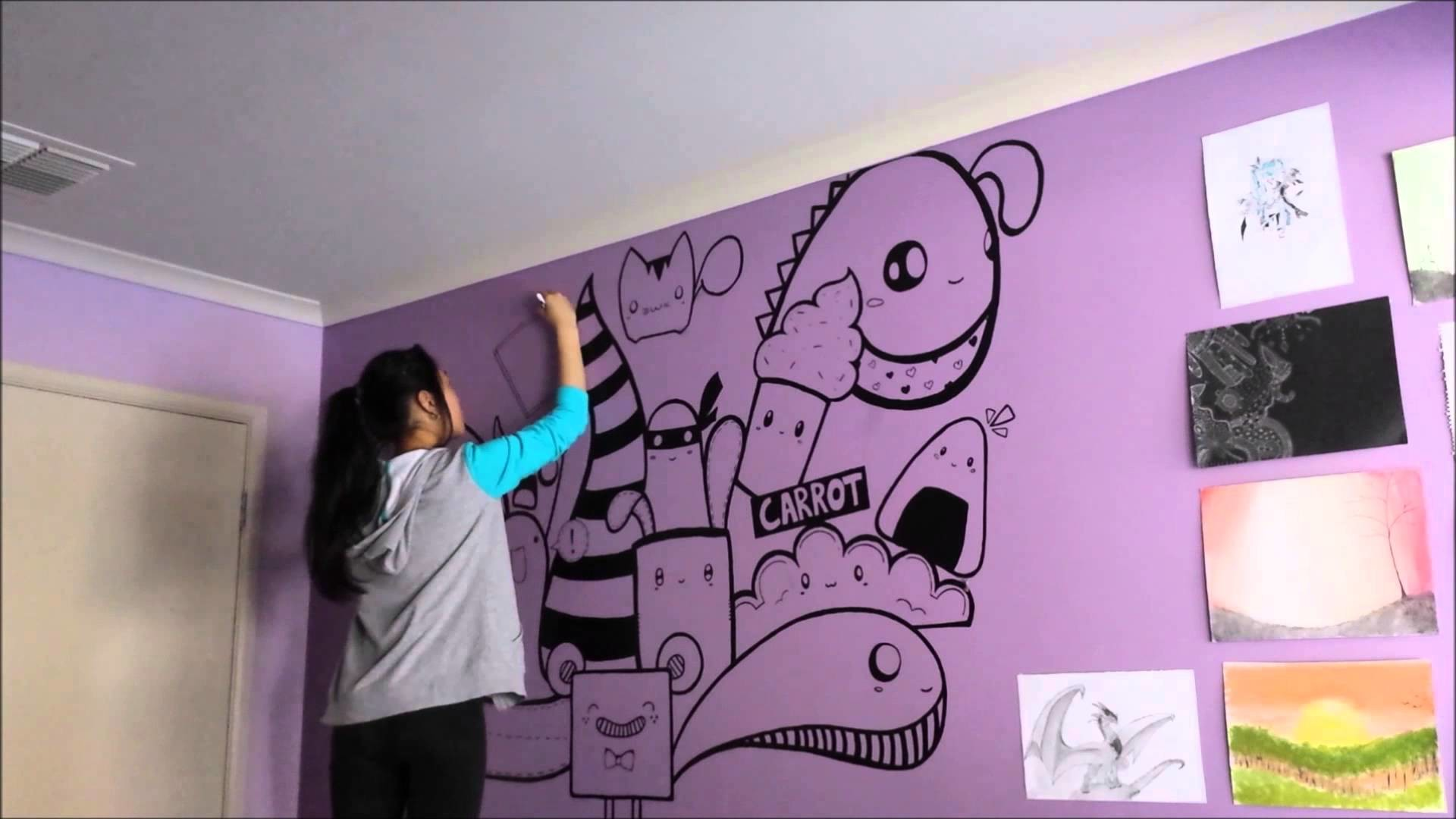Speed Painting - Wall art by Julie
