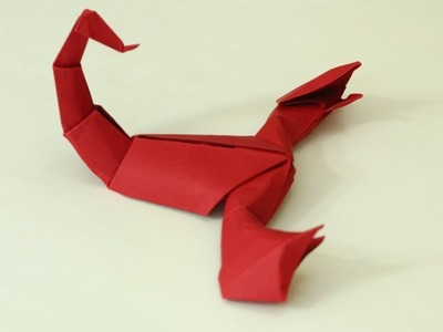 The Art of Paper Folding - How to Make an Origami paper Scorpion