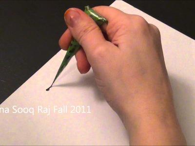 8 hennas on paper.wmv