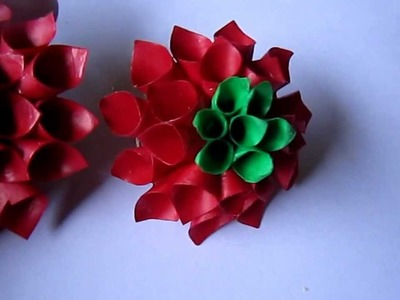 Handmade Jewelry - Paper Cone Stud Earrings 2