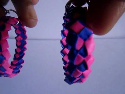 Handmade Paper Knot Hoops
