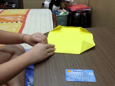 How to make a 6 pocket paper wallet.