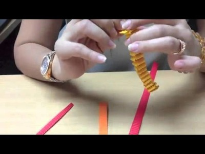 How to make Lion with kokoru paper