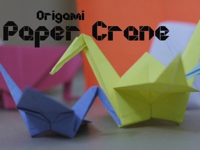 How to make Origami Paper Crane - By Origami Artists