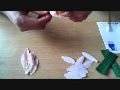 How to make paper flower lotus