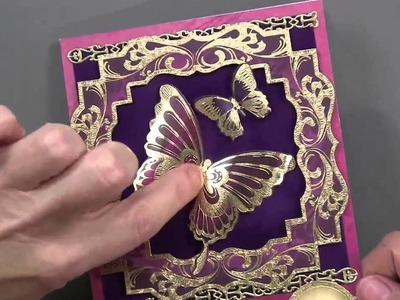 Hunkydory Twilight Butterfly - Paper Wishes Weekly Webisodes