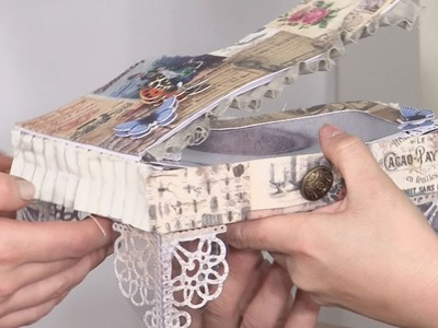 Making A Paper Piano Trinket Box  | docrafts Creativity TV