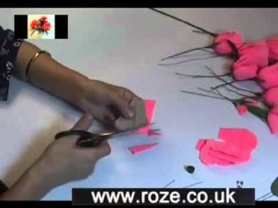 Paper flower making kit - Lisianthus misty, (fm31)