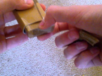 Paper Lock With Key