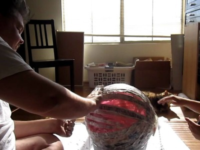 Paper Mache Death Star, The Movie