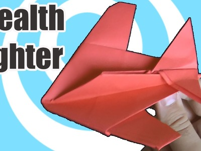 Paper Origami Stealth Fighter Instructions (Robert J. Lang)