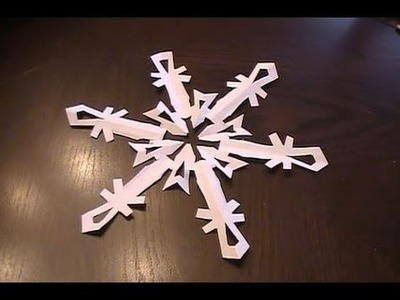 Paper Snowflake - Tutorial
