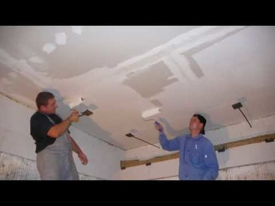 Fire test of Grenaboard as a fire-resistant ceiling