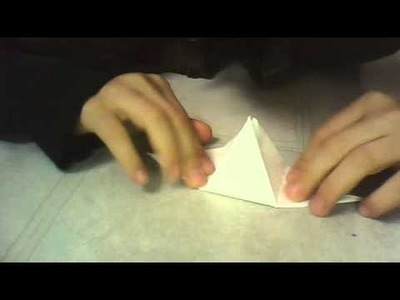 How to make a paper pyramid