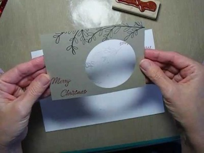 Paper Pieced Ornament Card
