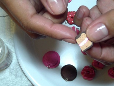 Assorted Polymer Clay Confections, Part 5: A Simple Lollipop, Baking, and Glazing