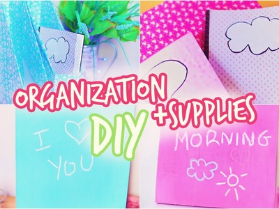Back To School: DIY Organization + Supplies!