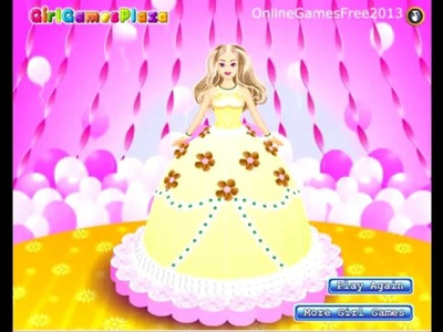 Barbie Cake Decorations Games - Free Barbie Cake Decorating Games