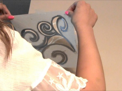 Decorate Your Walls with Stencil Art!