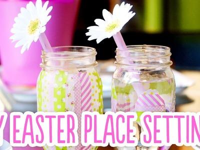 DIY Easter Place Settings
