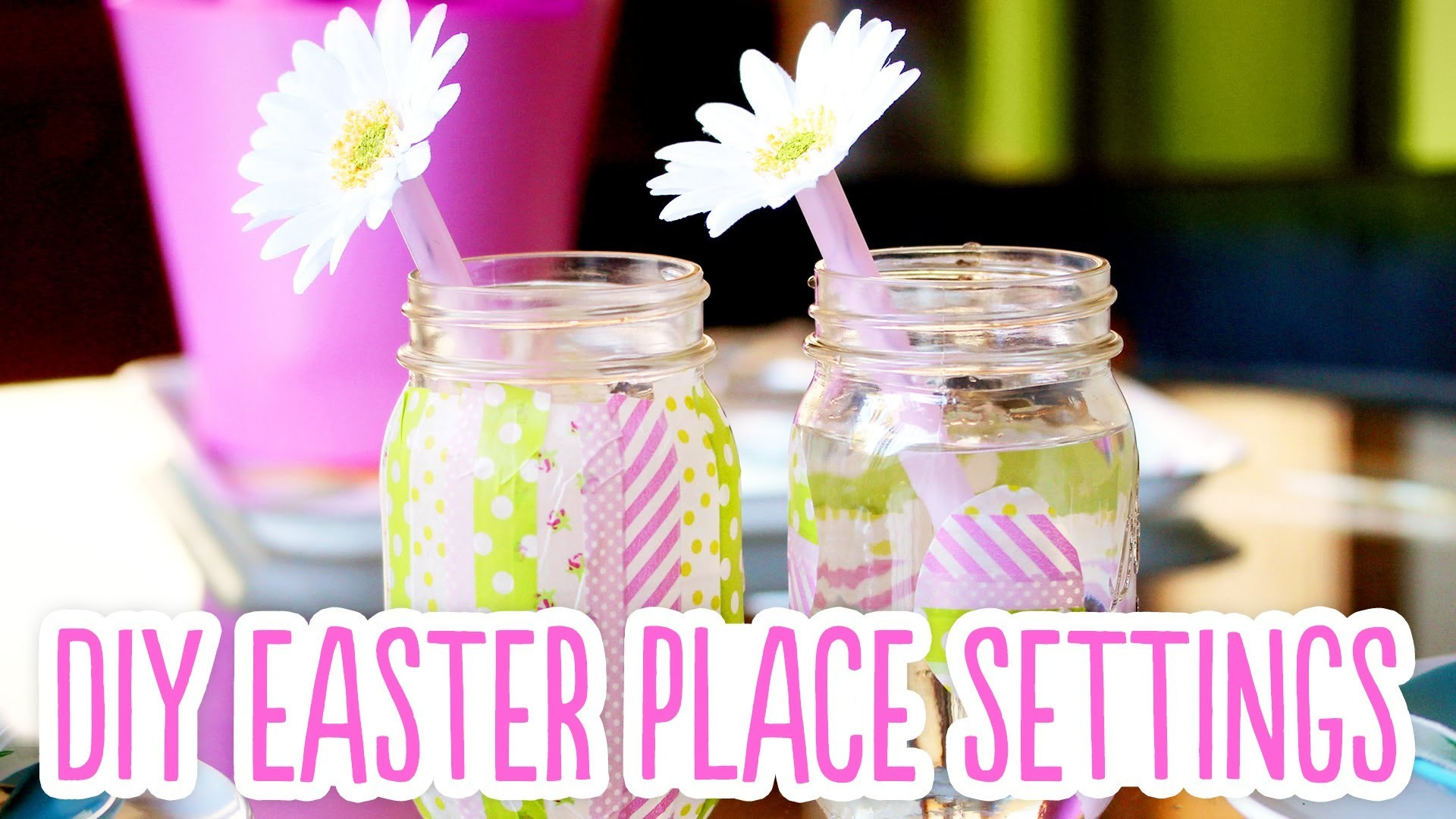 DIY Easter Place Settings