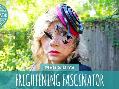 DIY Halloween: Frightening Fascinator