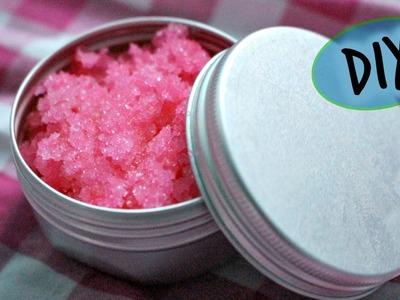 DIY Lush Bubblegum Lip Scrub