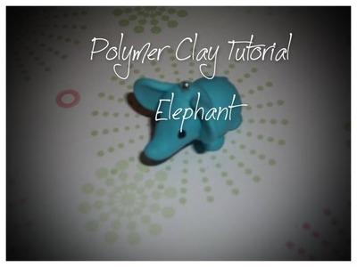 Elephant Polymer Clay Tutorial
