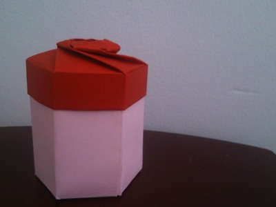 Hexagon Gift Box Origami - Tutorial - part 02