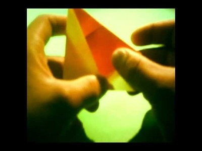 How to fold an Equal Triangle (Square paper)