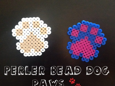 How To Make A Perler Bead Dog Paw!