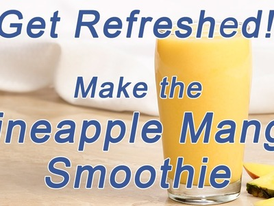 How to make a refreshing Medifast Smoothie
