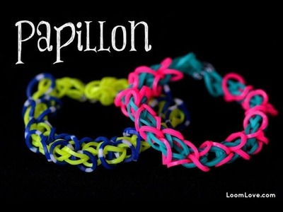 How to Make the Rainbow Loom Papillon Bracelet EASY