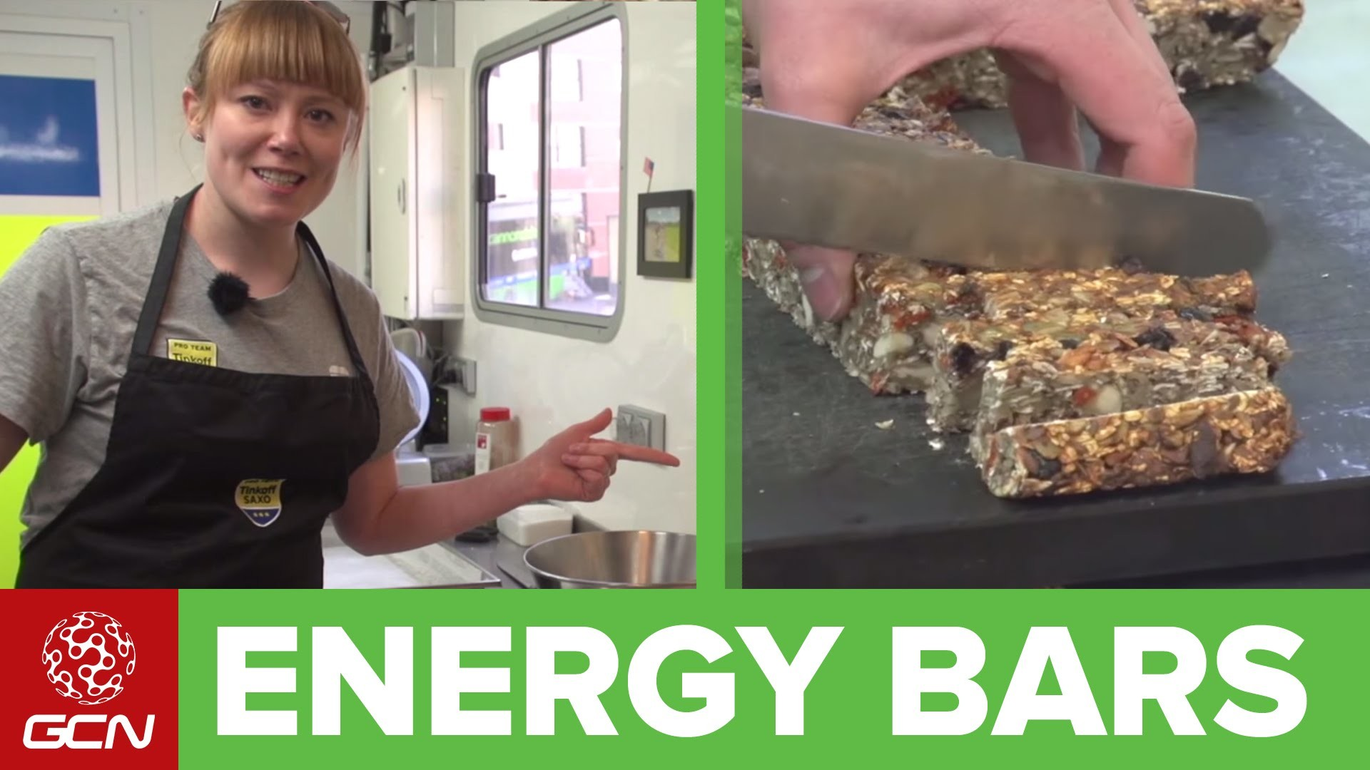 How To Make Your Own Energy Bars – 'GCN-Energy Bar 2' With Hannah Grant