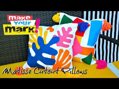 How to: Matisse Cutout Pillows