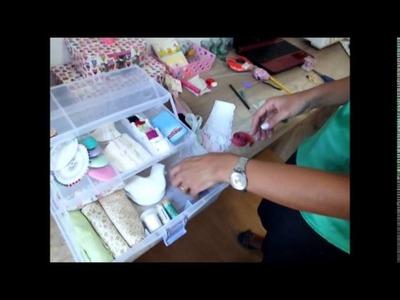 Maleta Craft -Organizando a bagunça