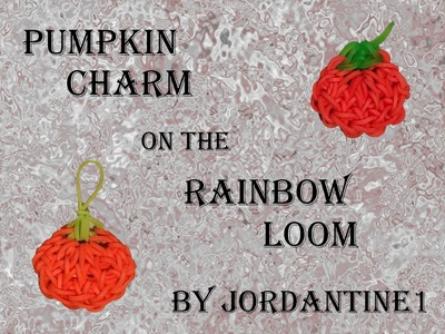 New Pumpkin Charm - Halloween Fall Thanksgiving - Rainbow Loom