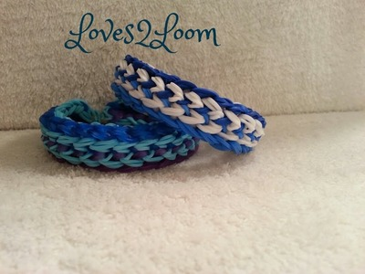 "New ""X-Wing Fighter"" Rainbow Loom Bracelet. How To Tutorial"