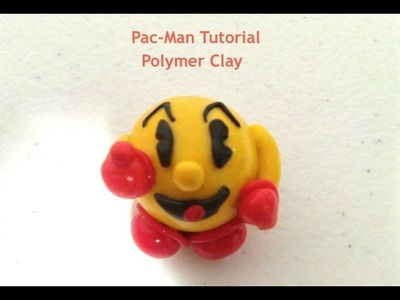Polymer Clay (3D) Pac-Man Tutorial