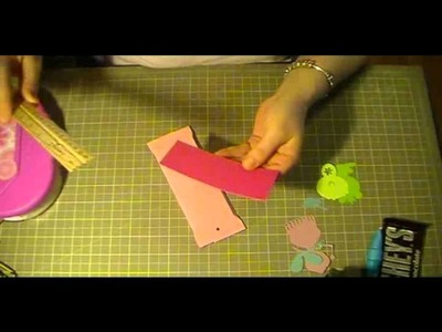 Princess candy bar wrapper using cricut princess party cartridge