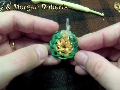 Rainbow Loom Gold.Silver Coin Charm