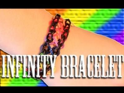 Rainbow Loom: Infinity Rubber Band Bracelet Tutorial