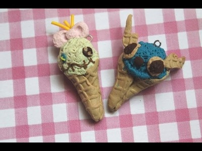 Scrump & stitch ice cream scoop [polymer clay] Tutorial