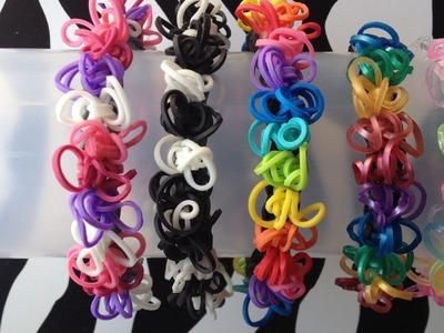 Squiggly Bracelet On Rainbow Loom