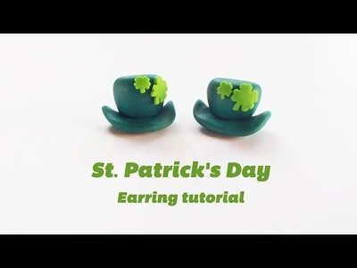 St. Patrick's Day Clay Earring - Polymer Clay Tutorial