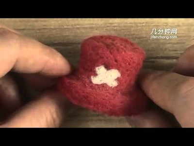 15092 How To Make The Felted Wool Of Lovely Joe