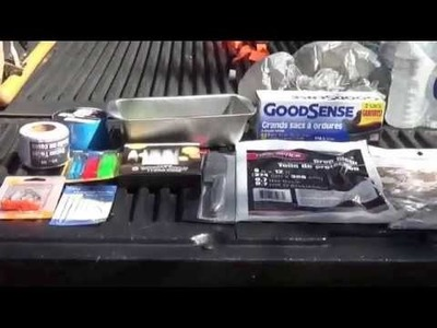 $20 Dollar Store Survival Kit Challenge