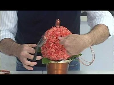 FR Presents:  How to create a fresh flower pumpkin