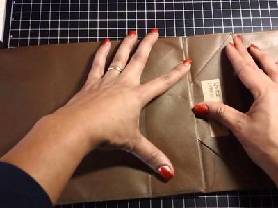 Gift Bag Mini Album Tutorial